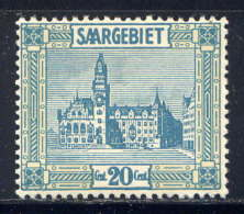 SARRE - 89* - HÔTEL DE VILLE DE SARREBRUCK - 1920-35 Saargebiet – Abstimmungsgebiet
