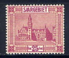 SARRE - 91* - HÔTEL DE VILLE DE SARREBRUCK - Ungebraucht