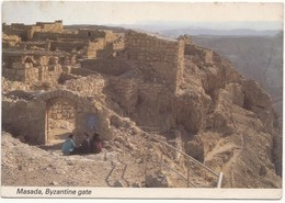 Israel, Masada, Byzantine Gate, 1980s Unused Postcard [21652] - Israel
