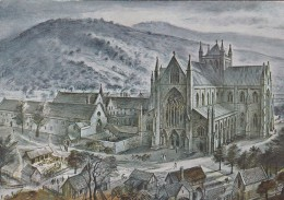 TINTERN ABBEY BY ALAN SORRELL - Monmouthshire