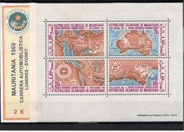 """MAURITANIA 1969 - CARRERA AUTOMOBILISTICA """"LONDRES-SYDNEY"""" - Mauritania (1960-...)"""