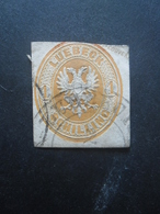 LUBECK N°9 Oblitéré Cote 200€ - Luebeck