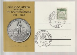 B 668) SSt 338 Goslar 3.7.1968: Schützenfest Priviligierte Schützengesellschaft (passende Sonderkarte Rammelsberg) - Other