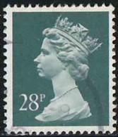 GB 1991 Yv. N°1564 - 28p Gris-bleu - Oblitéré - Machin-Ausgaben