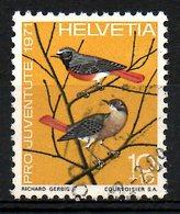 SUISSE. N°891 De 1971 Oblitéré. Rouge-queue. - Songbirds & Tree Dwellers