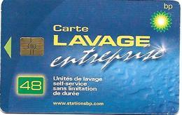 @+ Carte De Lavage BP Tres Rare - 48 UNITES - Entreprise - Frankrijk