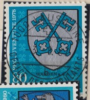 SUISSE Pro Juventute 1978:  La Haute Valeur (80+40) Oblitérée 'Vollstempel'  Lausanne-Ambulants, TB - Pro Juventute