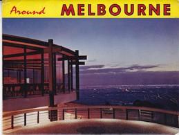 AROUND MELBOURNE.11 VIEWS SIZE 15x10CM. CIRCA 1970's. PHOTOSET SOUVENIR LAMBRANÇA GRUSS AUS- BLEUP - Melbourne