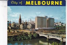 AROUND MELBOURNE.11 VIEWS SIZE 15x11CM. CIRCA 1970's. PHOTOSET SOUVENIR LAMBRANÇA GRUSS AUS- BLEUP - Melbourne