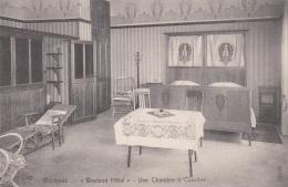 WESTENDE (Belgien) - Westend Hotel Une Chambre, Karte Um 1920?, Gute Erhaltung - Westende