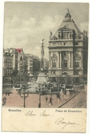 Bruxelles : Place De Brouckère - Marktpleinen, Pleinen
