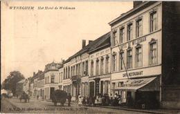 1 Oude Postkaart  WIJNEGEM  Hotel De Wildeman Cafe Restaurant  Estaminet Concorde  Drukker  RVDH Berchem - Wijnegem