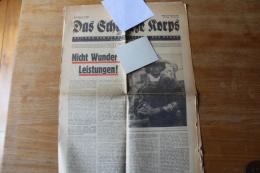 Interessant Journal De 1943  Das Schwartz  Korps - 1939-45