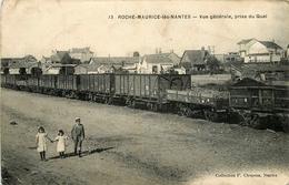 Roche Maurice Les Nantes * Vue Générale Prise Du Quai * Train * Chemin De Fer - Nantes