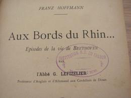 1896 Franz Hoffmann Aux Bord Du Rhin Beethoven Lefizelier - Livres, BD, Revues