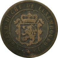 Monnaie, Luxembourg, William III, 5 Centimes, 1854, Utrecht, TB+, Bronze - Luxembourg