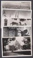"""""""Zagreb"""", 5 Versch. Fotokarten, Aus 1944 - Jugoslawien"""