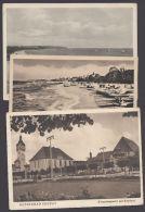 """""""Zoppot"""", 3 Versch. Karten 20er/30er Jahre - Polen"""