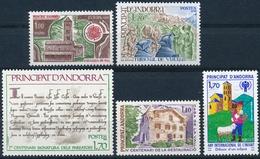 Andorra 290, 293-294, 300, 310 Alle Einwandfrei Postfisch/** - Neufs