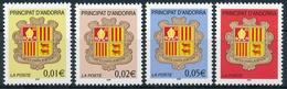 Andorra 576-579 Alle Einwandfrei Postfisch/** - Neufs