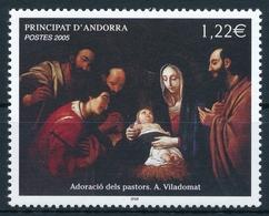 Andorra 640 Einwandfrei Postfisch/** - Neufs