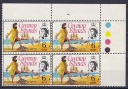 CAYMAN ISLANDS 1974 MNH**- MARINE LIFE, TURTLE, SHIP, PIRATES - Kaimaninseln
