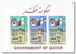 Qatar 1965, Postfris MNH, Scouting ( Imperf. ) - Qatar