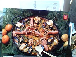 VALENCIA PAELLA COZZE GAMBERI SHELL  N1980  GU2992 - Ricette Di Cucina