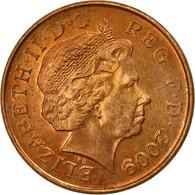 Monnaie, Grande-Bretagne, Elizabeth II, Penny, 2009, TB+, Copper Plated Steel - 1971-… : Monnaies Décimales