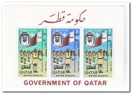 Qatar 1965, Postfris MNH, Scouting - Qatar