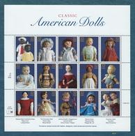 American Dolls - Scott #3151 - U.S. Minature Sheet Of 15 [#4610] - Sheets