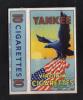 YANKEE  BY JOSEPH LICARI   MALTA  PACKET OF 10 CIGARETTE - 1950s VERY RARE - - Empty Cigarettes Boxes