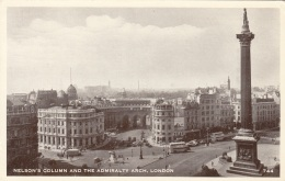 LONDON - Nelson's Column And The Admiralty Arch, Gel.1956 - London