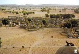 Afrique-BURKINA FASO  TIBOU Village Foulsé En Pays Mossi Au Sahel Dans L'harmonie Du Soir  (architecture)*PRIX FIXE - Burkina Faso