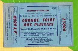 Buvard . Blotting Paper : Transport MORY  LOMME  Grande Foire Aux Plaisirs Canteleu - Transport