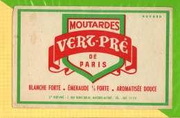 Buvard . Blotting Paper : Moutardes VERZ PRE De Paris - Mostard