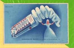 Buvard . Blotting Paper : Pansement RUBY  Voiron  La Chartreuse - Chemist's