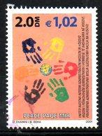 KOSOVO. N°10 De 2001 Oblitéré. Paix Au Kosovo. - Gebraucht