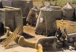 Afrique-BURKINA FASO TIEBELE Province De Nahouri Habitat Gourounsi Ou Cases Rondes (architecture) *PRIX FIXE - Burkina Faso