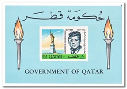 Qatar 1966, Postfris MNH, John F. Kennedy - Qatar