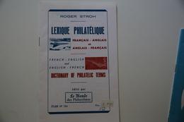 Lexique Français-Anglais Et Vice-versa TB. - Diccionarios Filatélicos