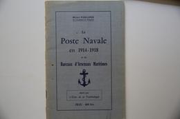 Parlange Poste Navale 1914/18 TB. - Correomilitar E Historia Postal