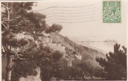 FALKESTONE - Zig-Zag Walk, Gel.1924 - Folkestone