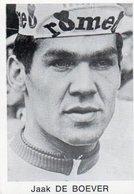 Cyclisme  Chromo Wielrenner  4,5 X 6,5 Cm  Jaak De Boever - Cycling