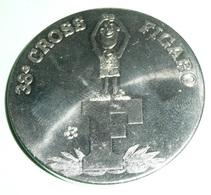 Lot De 2 Médailles Monnaie De Paris, 38e Et 40e CROSS DU FIGARO, France 1998 2000 - Athletics