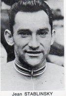 Cyclisme  Chromo Wielrenner  4,5 X 6,5  Jean Stablinsky - Cycling