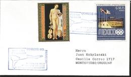 J) 1972 PARAGUAY, OPENS THE FLIGHTS ASUNCIÓN-SAO PAULO-RIO CASABLANCA-MUNICH-FRANKFORT, CULMINATION OF THE 1968 OLYMPIC - Paraguay