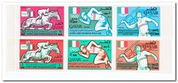 Qatar 1966, Postfris MNH, Olympic Games 1968 ( With Overprint ) - Qatar