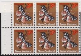 NZ    .     SG   .    6  Stamps       .        *     .         Mint-hinged    .   /   .    Ongebruikt - Ongebruikt