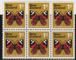 NZ    .     SG   .   6   Stamps       .        **    .         MNH      .   /   .    Postfris - Nieuw-Zeeland